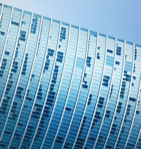 Stock photo: Modern office building fragment