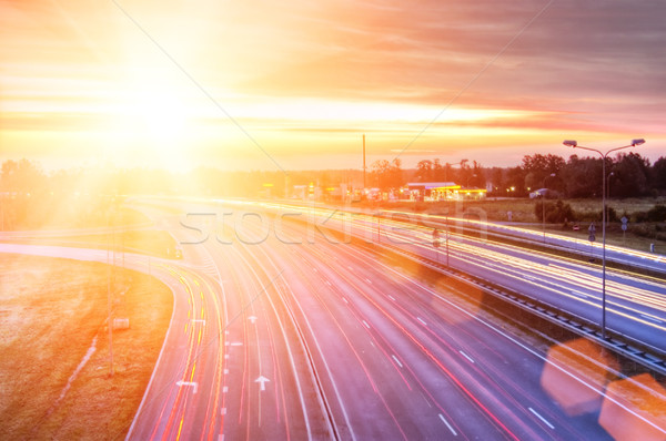 Picture of a highway Stock photo © Nejron