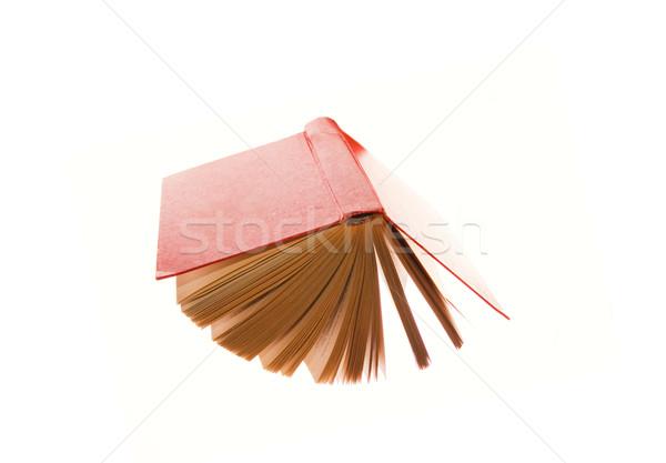 Old book isolated on white Stock photo © Nejron