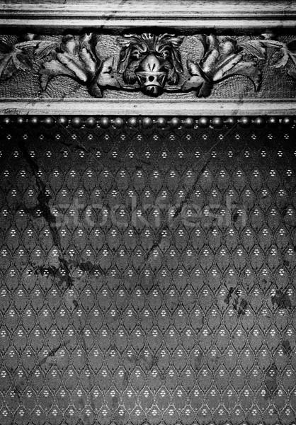 Streszczenie gothic tekstury charakter projektu czarny Zdjęcia stock © Nejron
