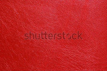 Red  leatherette texture Stock photo © Nejron