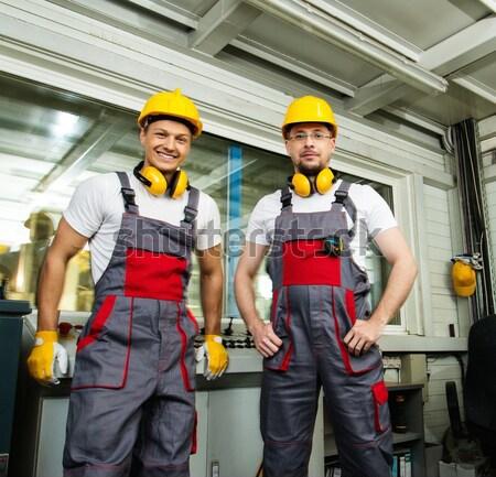 ストックフォト: 女性 · 工場労働者 · 女性 · 少女 · 作業 · ワーカー