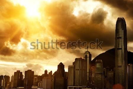 Hong Kong downtown  Stock photo © Nejron