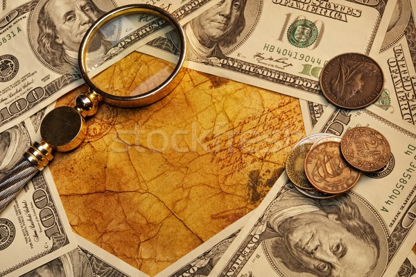 American dollars with a lope on it Stock photo © Nejron
