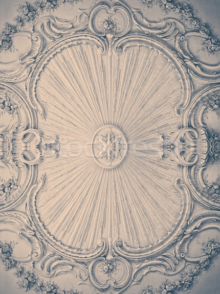 Luxury wall design with mouldings Stock photo © Nejron