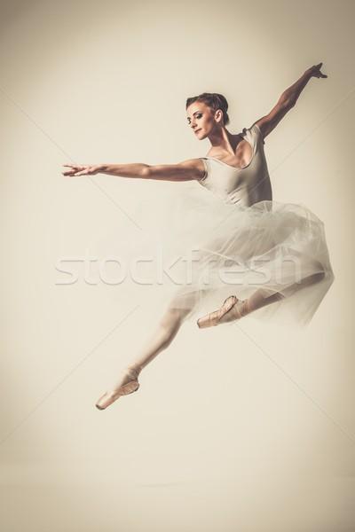 ストックフォト: 小さな · バレリーナ · ダンサー · ダンス · ファッション