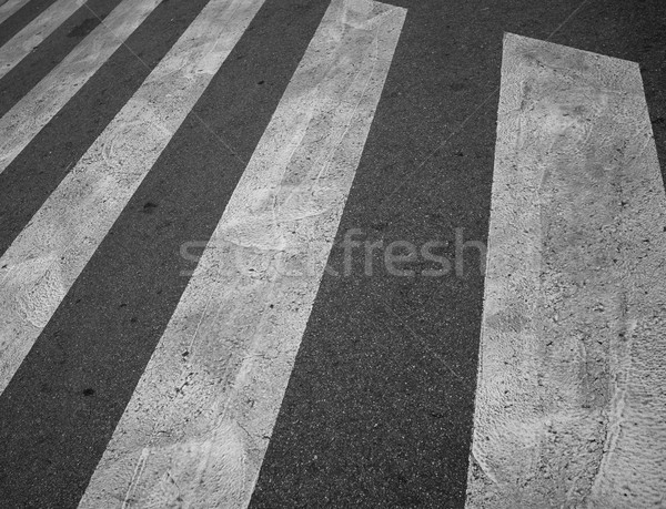 クローズアップ 歩行者 テクスチャ 抽象的な クロス ストックフォト © Nejron