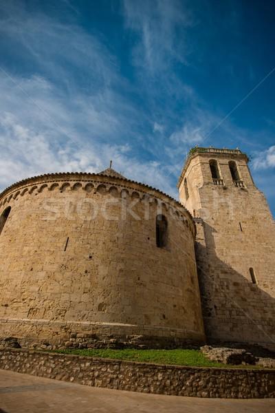 Church of Sant Pere, Besalu Stock photo © Nejron