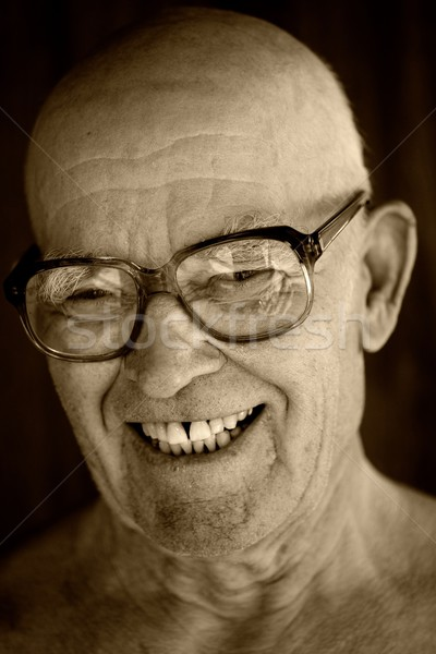 Portrait of an elderly man.  Stock photo © Nejron