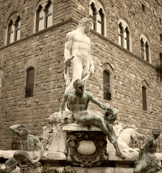 Antique fountain Stock photo © Nejron