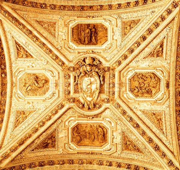 Decorated ceiling Stock photo © Nejron