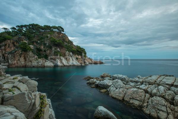 Rocky seashore view  Stock photo © Nejron