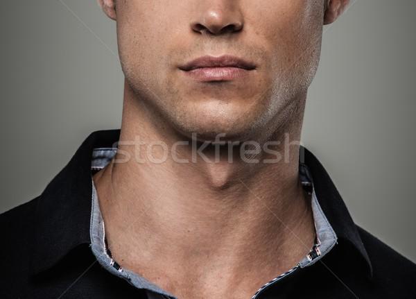 Handsome man wearing polo shirt  Stock photo © Nejron