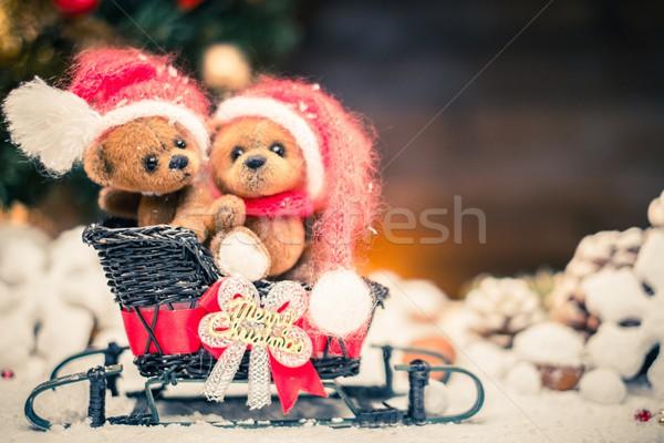Photo stock: Faible · jouet · Noël · still · life