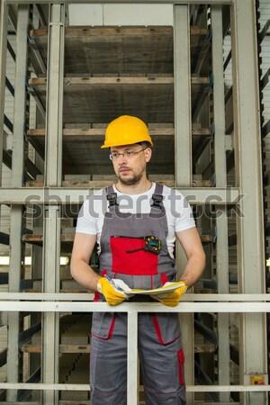 女性 工場労働者 作業 金属 ワーカー 産業 ストックフォト © Nejron