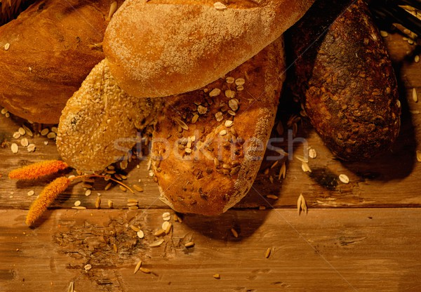 Homemade baked goods on a table Stock photo © Nejron