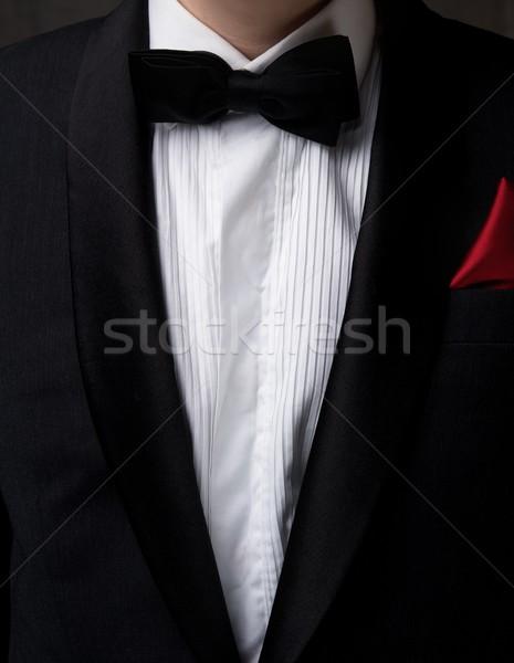 Man smoking liefde mode zwarte Stockfoto © Nejron