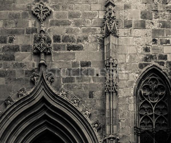 Old building architecture details Stock photo © Nejron