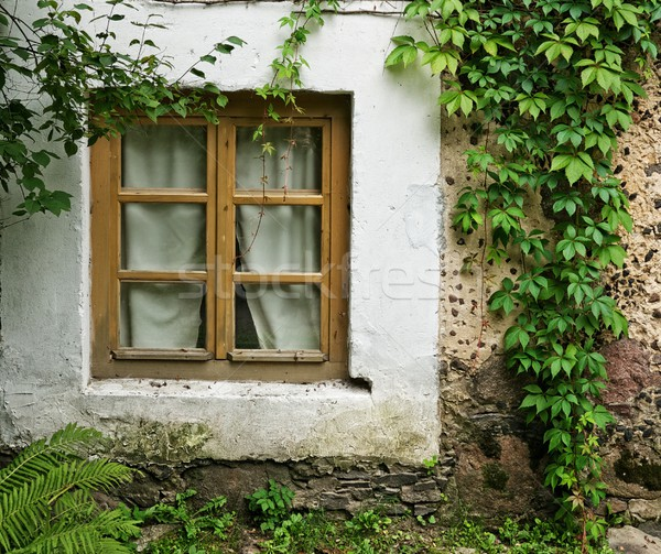 Window in an old house. Stock photo © Nejron
