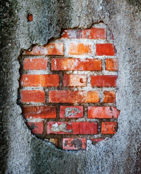 Stylish brickwall texture Stock photo © Nejron