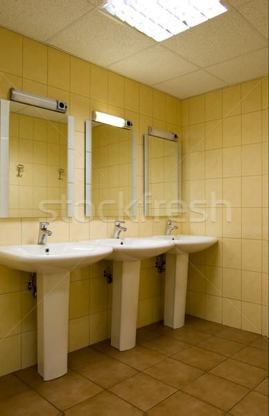 Keine Beschreibung Design Zimmer Bad Spiegel Stock foto © Nejron