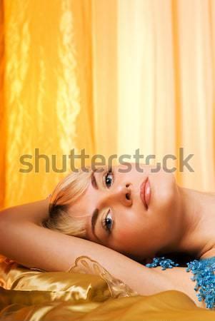 Voluptuous young woman Stock photo © Nejron