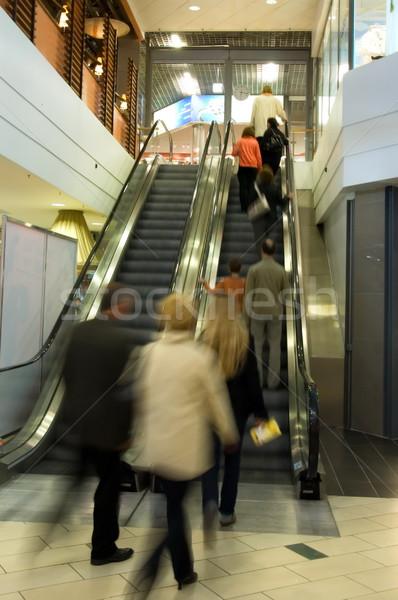 人 エレベーター ビジネス 女性 群衆 ストックフォト © Nejron