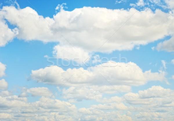 Felhőkép absztrakt természet űr felhő szél Stock fotó © Nejron