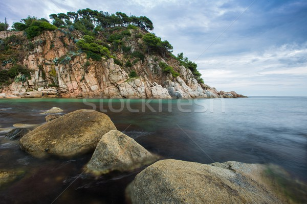Rocky seashore view  Stock photo © Nejron