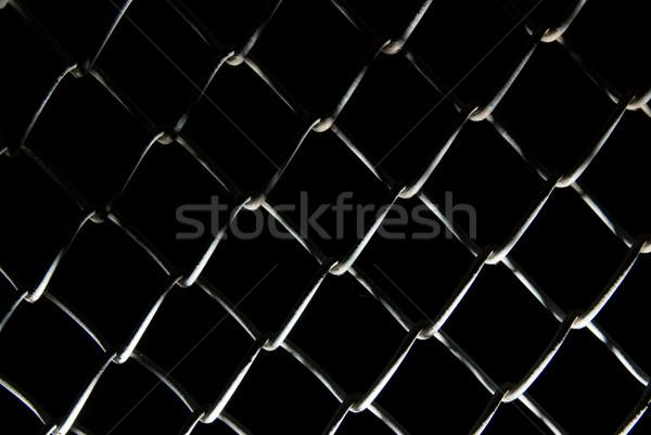 Metal fence Stock photo © Nejron