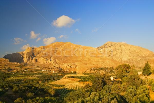 Beautiful autumn scenic in mountains Stock photo © Nejron