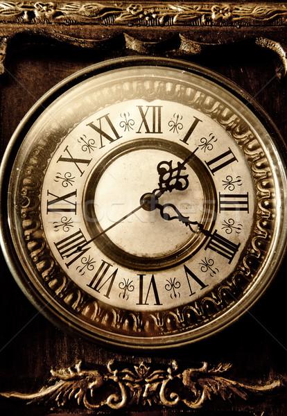 Old antique clock Stock photo © Nejron