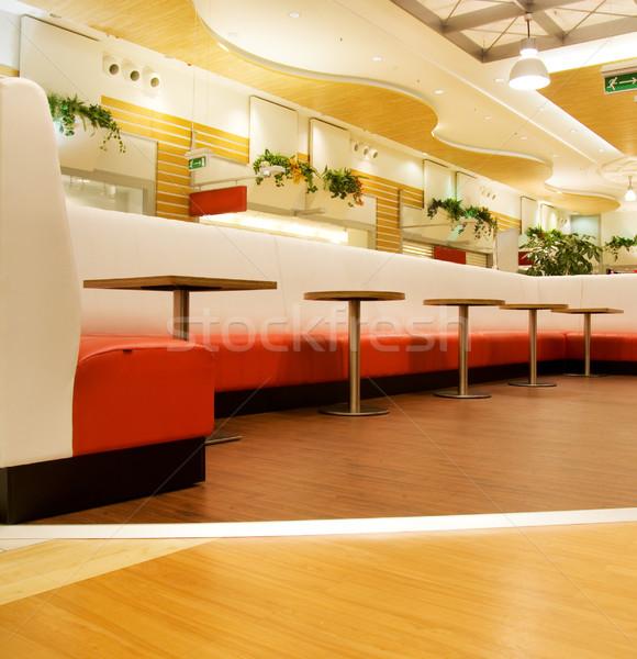 étterem belső pláza vásárlás bár vacsora Stock fotó © Nejron