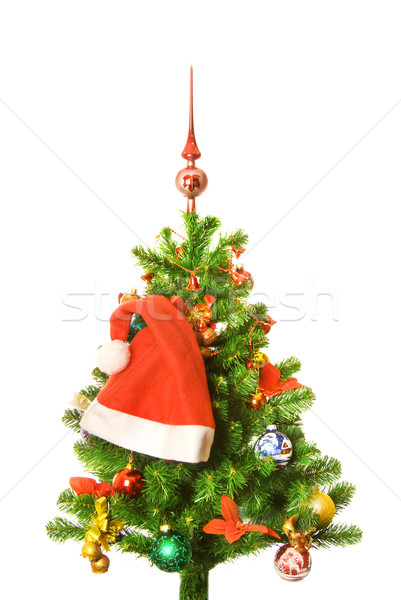 Decorated Christmas-tree Stock photo © Nejron