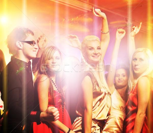 люди танцы ночной клуб девушки женщины моде Сток-фото © Nejron