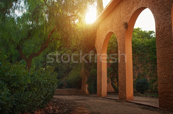 Arc in a beautiful park. Stock photo © Nejron