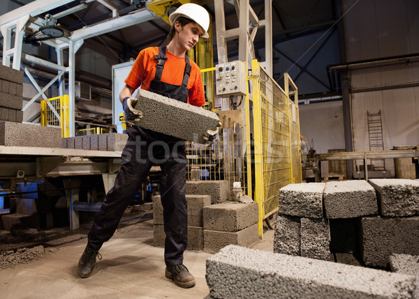 Factory loader at work   Stock photo © Nejron