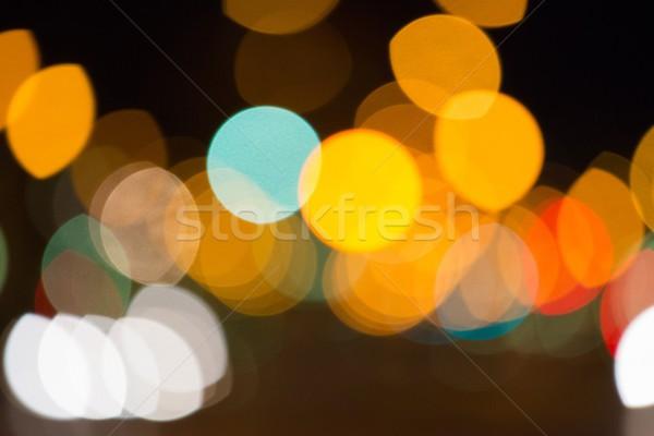 Colourful blurs background Stock photo © Nejron