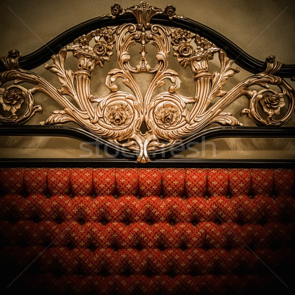 назад дорогой кровать орнамент дизайна Сток-фото © Nejron