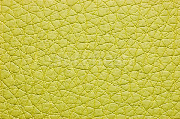 Green color leatherette texture Stock photo © Nejron