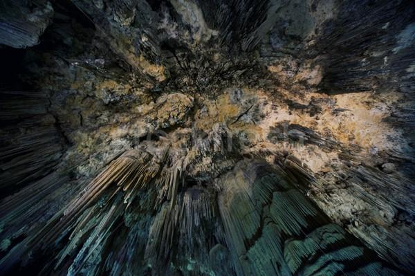 ストックフォト: アンダルシア · スペイン · 抽象的な · 光 · 山 · 岩