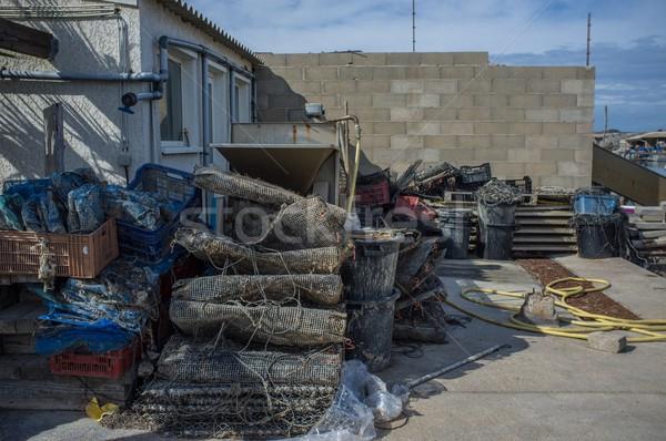 за порта Франция стены лет Сток-фото © Nejron
