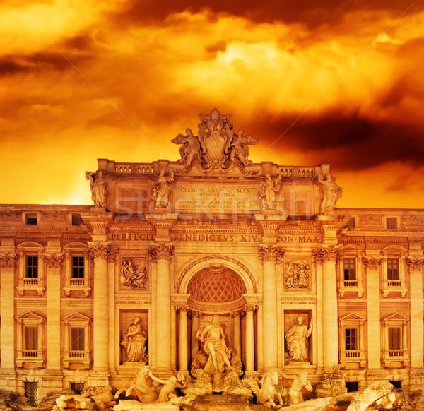Trevi Fountain (Italy, Rome) Stock photo © Nejron