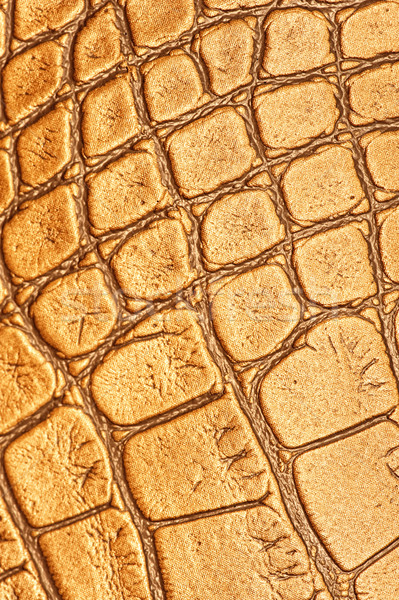 Stock photo: Picture of a genuine leather texture
