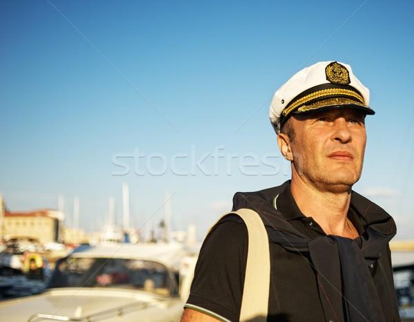 Marynarz morza lata niebieski podróży Zdjęcia stock © Nejron