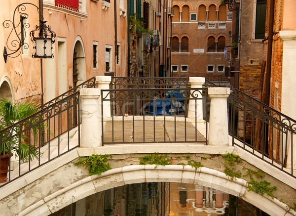 Bridge in a Venice Stock photo © Nejron