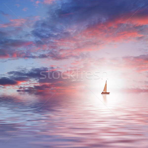 Beautiful sea scenic Stock photo © Nejron