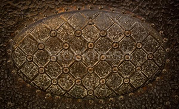 Vintage metal decoration close-up Stock photo © Nejron