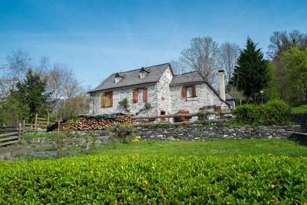 Beautiful stone rural house  Stock photo © Nejron