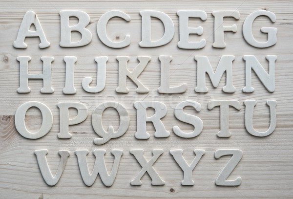 English alphabet background Stock photo © Nejron